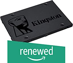 "Kingston A400 SSD 120GB SATA 3 2.5"" Solid State Drive SA400S37/120G - Increase Performance (Renewed)"