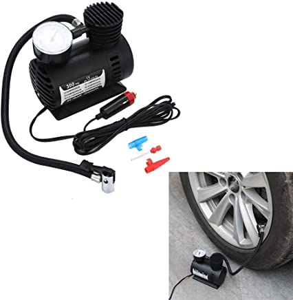 JN-STORE's Air Compressor for Car and Bike 12V 300 PSI Tyre Inflator Air Pump for Motorbike & CAR