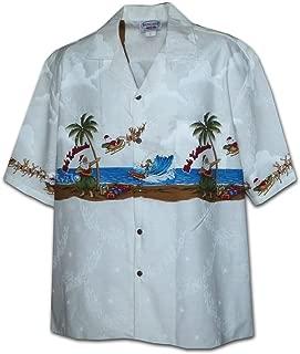 Pacific Legend Santa Hula Mele Kalikimaka Christmas Hawaiian Shirt