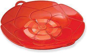 Kuhn Rikon Kochblume Spill Stopper, 11-inches, Red