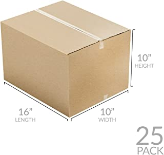 Uboxes Brand Box Bundles: (25 Pack) Small Moving Boxes 16