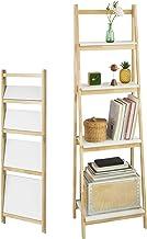 Bianco,FRG115-W,IT con Lavagna SoBuy/® Scaffale a Scala,Libreria,Tavolo Pieghevole