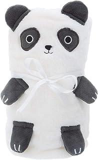 Sass & Belle panda mjuk fleece babyfilt