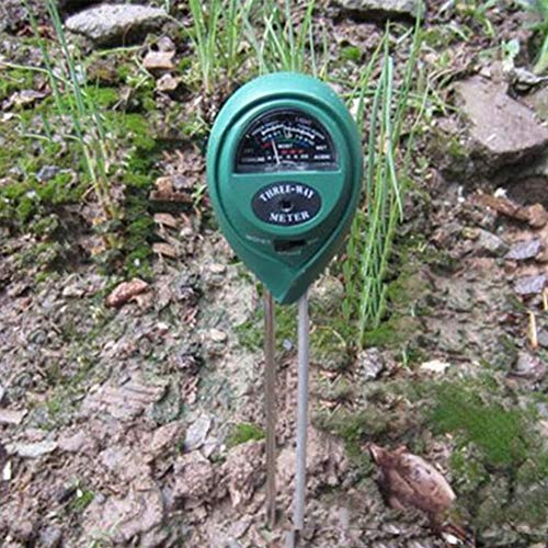 Metermall Home 3 in 1 Soil Tester Meter for Garden Lawn Plant Pot Moisture Light PH Sensor Tool