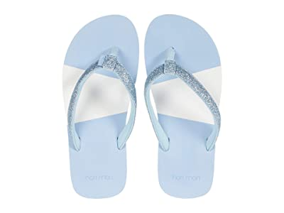 hari mari Kids Meadows Asana Glitter (Little Kid/Big Kid) (Light Blue) Girl