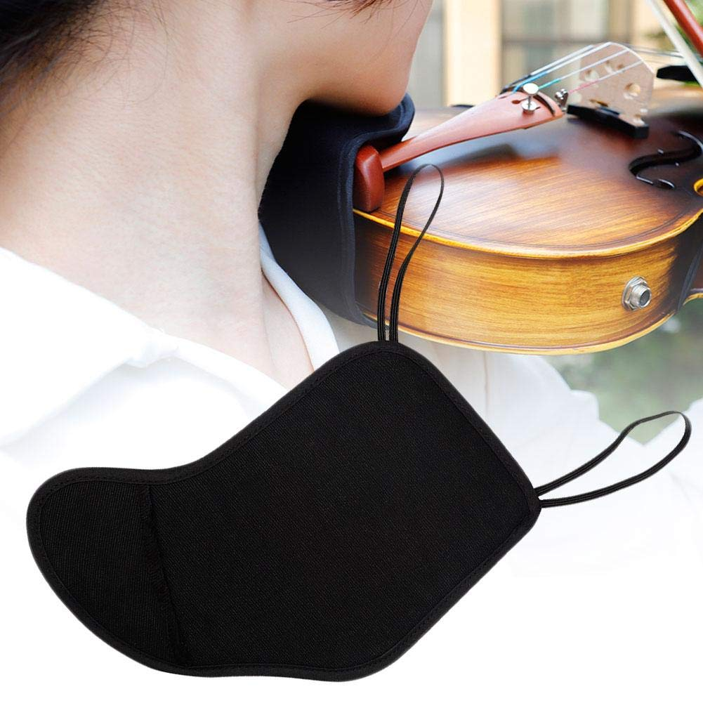 Violin Parts Special price for a limited time 4 4-4 3 Fiddle Soft Rest Chin Shoulder Outlet SALE Cotto