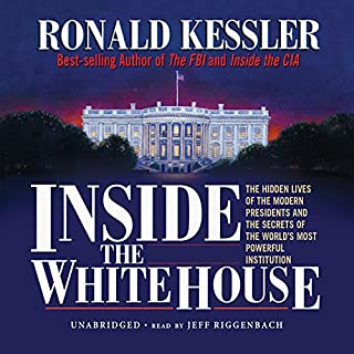 Inside the White House audiobook cover art