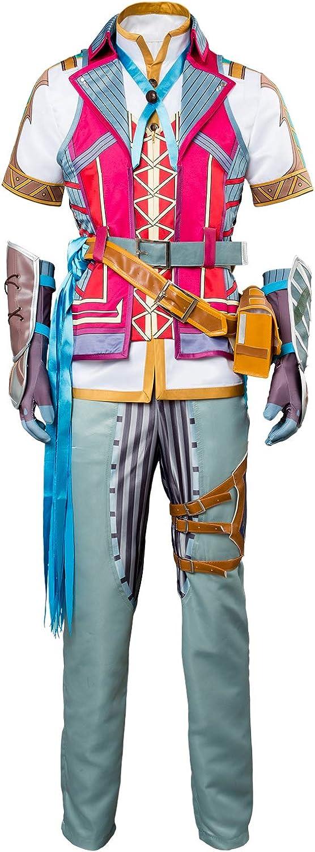 más vendido MingoTor Anime súperhéroes Outfit Disfraz Traje de CosJugar Ropa Hombre Hombre Hombre XXL  hermoso