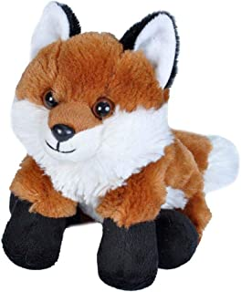 Wild Republic Red Fox Plush, Stuffed Animal, Plush Toy, Gifts for Kids, Hug'EMS 7""