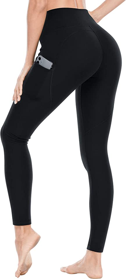 Women's Leggings, Gym Leggings high Waist with Pockets, 3D Hip line Design, Suitable for Sports, Running, Yoga, Fitness, Training, Workout