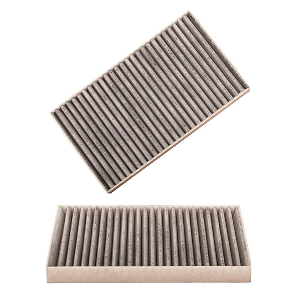 WTKSOY WTF019 Cabin Air Filter Includes Activated Carbon Fit Cadillac Chevrolet GMC