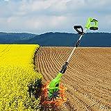 Lo scarificatore elettrico è un coltivatore elettrico da 20 a batteria, leggero e da 4000...