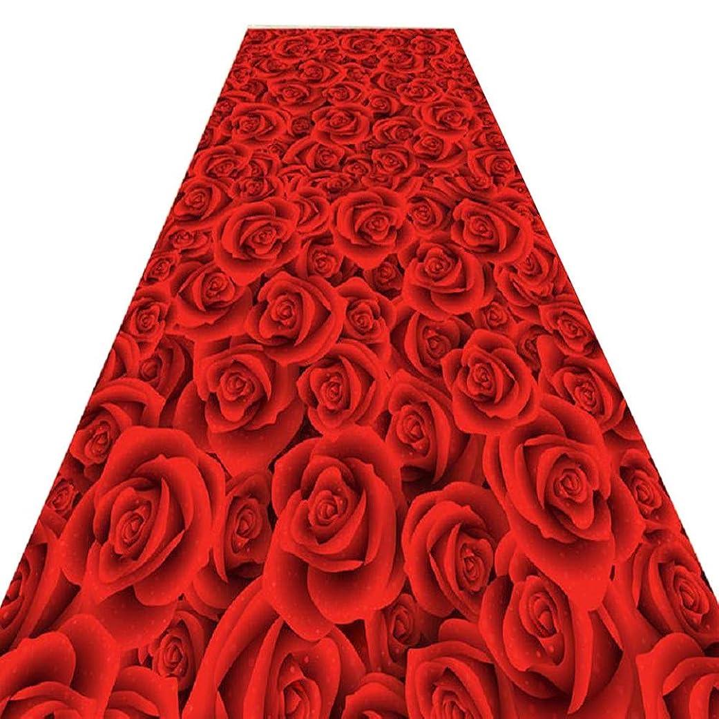 ハント犬ストライプASPZQ - 廊下の階段3D防塵フェード耐性店の入り口の廊下のカーペット、60サイズ、厚さ8 mm (Color : A, Size : 0.6x19m)