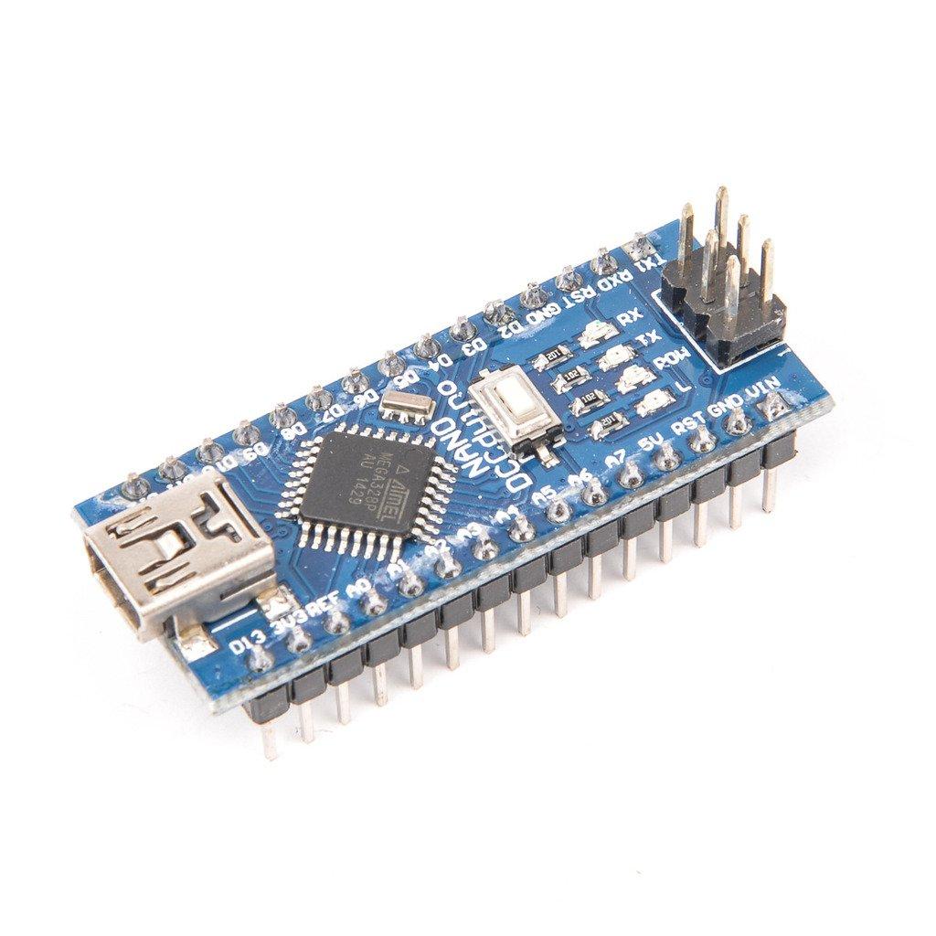 Gaoxing Tech. Mini USB Nano V3.0 ATMEGA328P Módulo CH340G 5V 16M Tarjeta microcontrolador para Arduino: Amazon.es: Electrónica