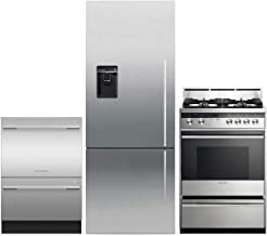 Fisher Paykel 3 Piece Kitchen Package with RF135BDLUX4N 25