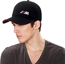 KRADA Car Logo Adjustable Baseball Cap for BMW M Men Women Travel Golf Cap Racing Motor Hat