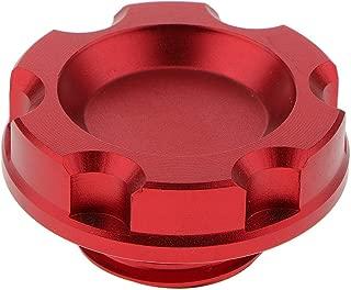 Rojo 3.5 1PC Tap/ón De La Tapa del Tanque De Llenado De Combustible del Aceite del Motor del Coche para Honda Shiwaki M32