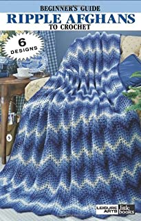 Ripple Afghans to Crochet  (Leisure Arts #75001) (Leisure Arts Little Books)
