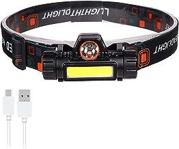 Koplamp Meest Krachtige Led Koplamp 300000LM Hoofd lamp USB Oplaadbare 18650 Batterij Koplamp Waterdicht Zoomaable Vissen ...