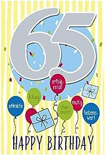 Geburtstagskarten 65 Geburtstag