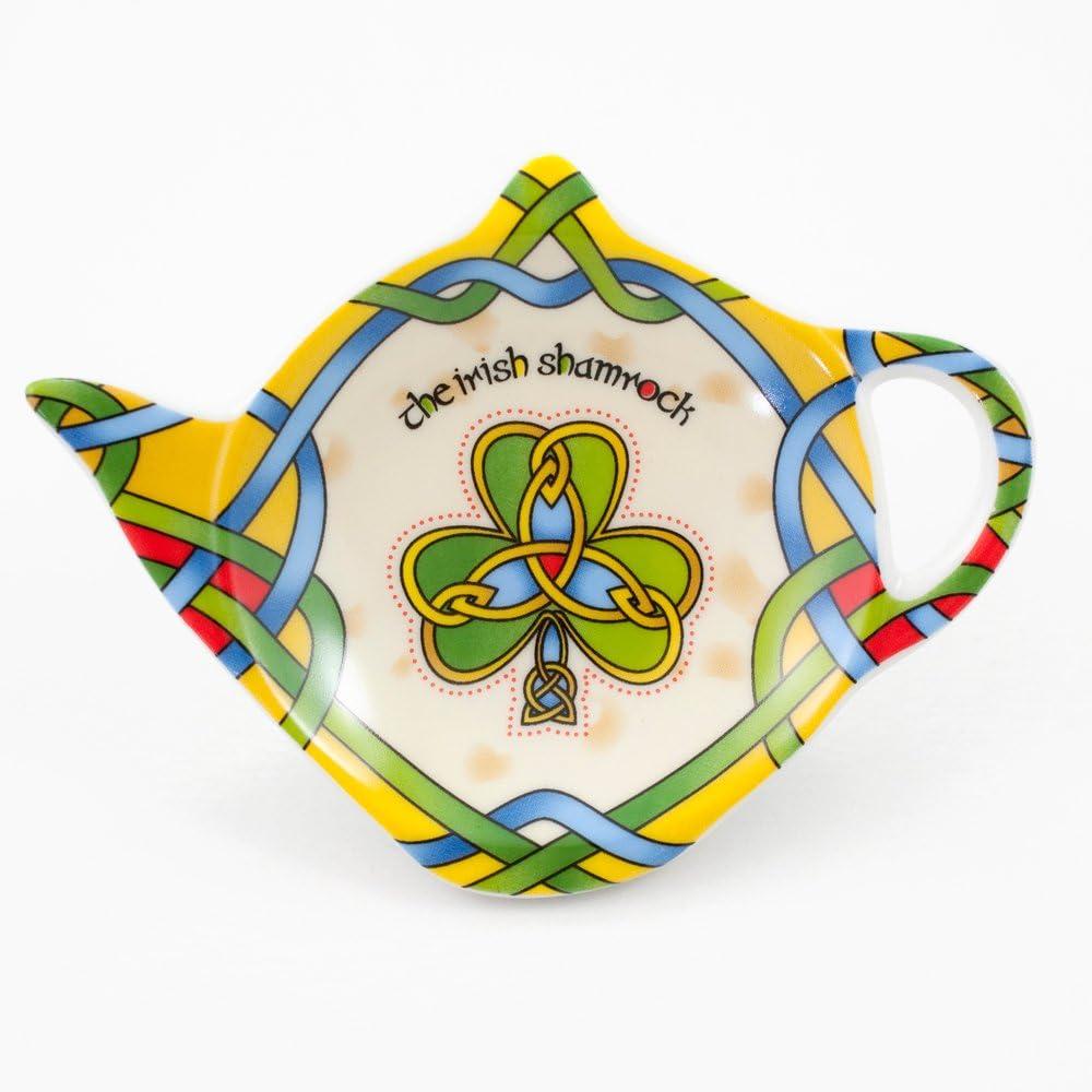 Shamrock Tea Bag Holder Colors Large Max 44% OFF discharge sale Celtic Accessories