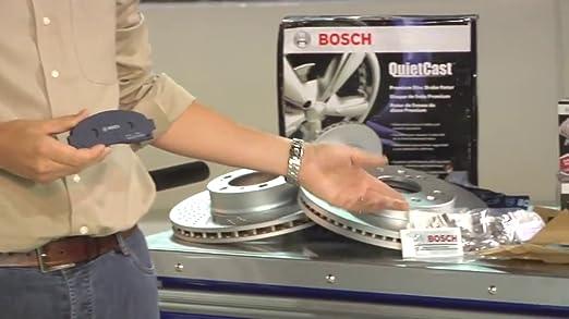 Bosch BE1211 Blue Disc Brake Pad Set for Pontiac: 2009-10 Vibe; Scion: 2011-16 tC; Toyota: 2009 Corolla 2009-13 Matrix FRONT 2006-15 RAV4