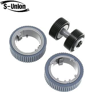 S-Union Replacement Scanner Brake and Pick Roller Set Compatible with Fujitsu Fi-7160 Fi-7180 Fi-7260 Fi-7280 Part NO: PA03670-0001 PA03670-0002 Model: FI-C728PR FI-C728BR