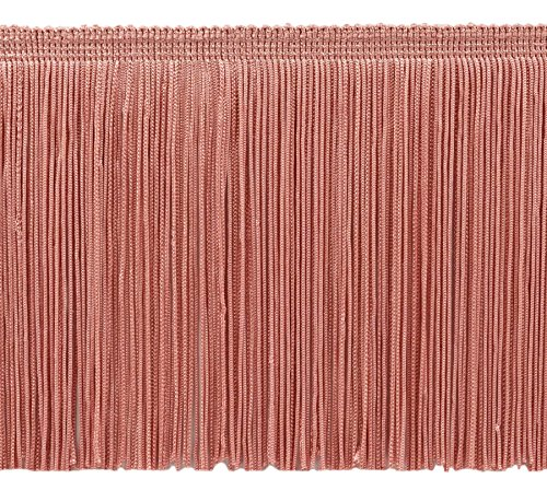 Decopro 5.5 cm Chainette Fringe Trim, Style # CF06 color Light Rose rosa – 07, venduto al yard (0,9 m = 91 cm/0,9 m/36)