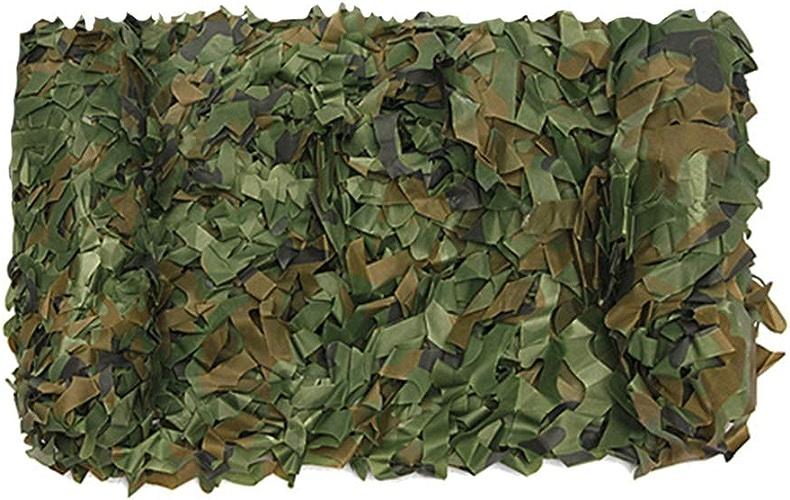 CHAOXIANG Filet De Camouflage Renforcement Bord Enroulé Crème Solaire Résistant à l'usure Résistant à Tirer Tissu Oxford Multi-Taille, Personnalisable (Couleur   A, Taille   5x10m)