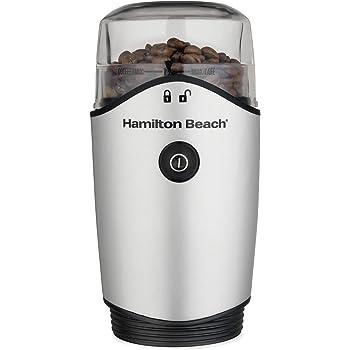 Hamilton Beach 80350R Molino de Café y Especias, 12 Tazas, Plata