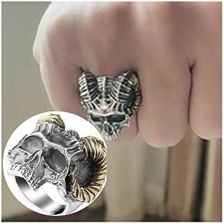 خاتم جمجمة مخلب S925 فضة استرليني خاتم بانك روك 27 جرام وزن ، قابل للتعديل الحجم اليدوية الجمجمة تلميع الحلقات للرجال والنساء