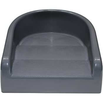 Prince Lionheart Soft Booster Seat, Charcoal Grey