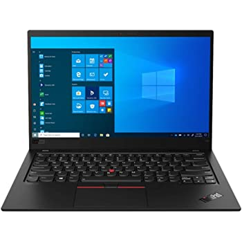 "Latest Gen 8 Lenovo ThinkPad X1 Carbon 14"" FHD Ultrabook (400 nits) with 10th Gen Intel i7-10510U Processor up to 4.90 GHz, 1 TB PCIe SSD, 16GB RAM, and Windows 10 Pro"