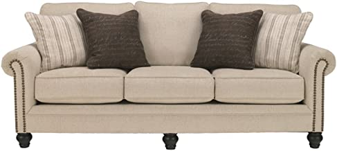 Signature Design by Ashley Milari Queen Sleeper Sofa in Linen