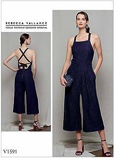 بدلة أطفال صغيرة من Vogue Patterns V1591A50 Sportswear Misses'