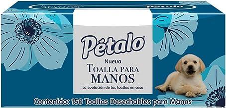 Pétalo Toalla Desechable para Manos, Paquete con 150 piezas