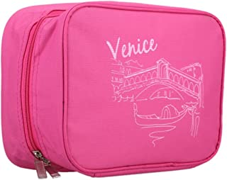 c74ea4b32d8e Amazon.com: Pink - Toiletry Bags / Bags & Cases: Beauty & Personal Care