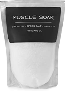 White Pine Oil Muscle Soak, Sore Muscle Soak, Shea Butter, Epsom Salt and Coconut Oil by Natural Essence