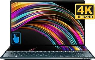 لاب توب اسوس زينبوك برو ديو UX581 بشاشة 15.6 انش 4 كيه الترا اتش دي نانو ايدج وحواف لمسية- معالج انتل كور i7-9750H، رام 16...
