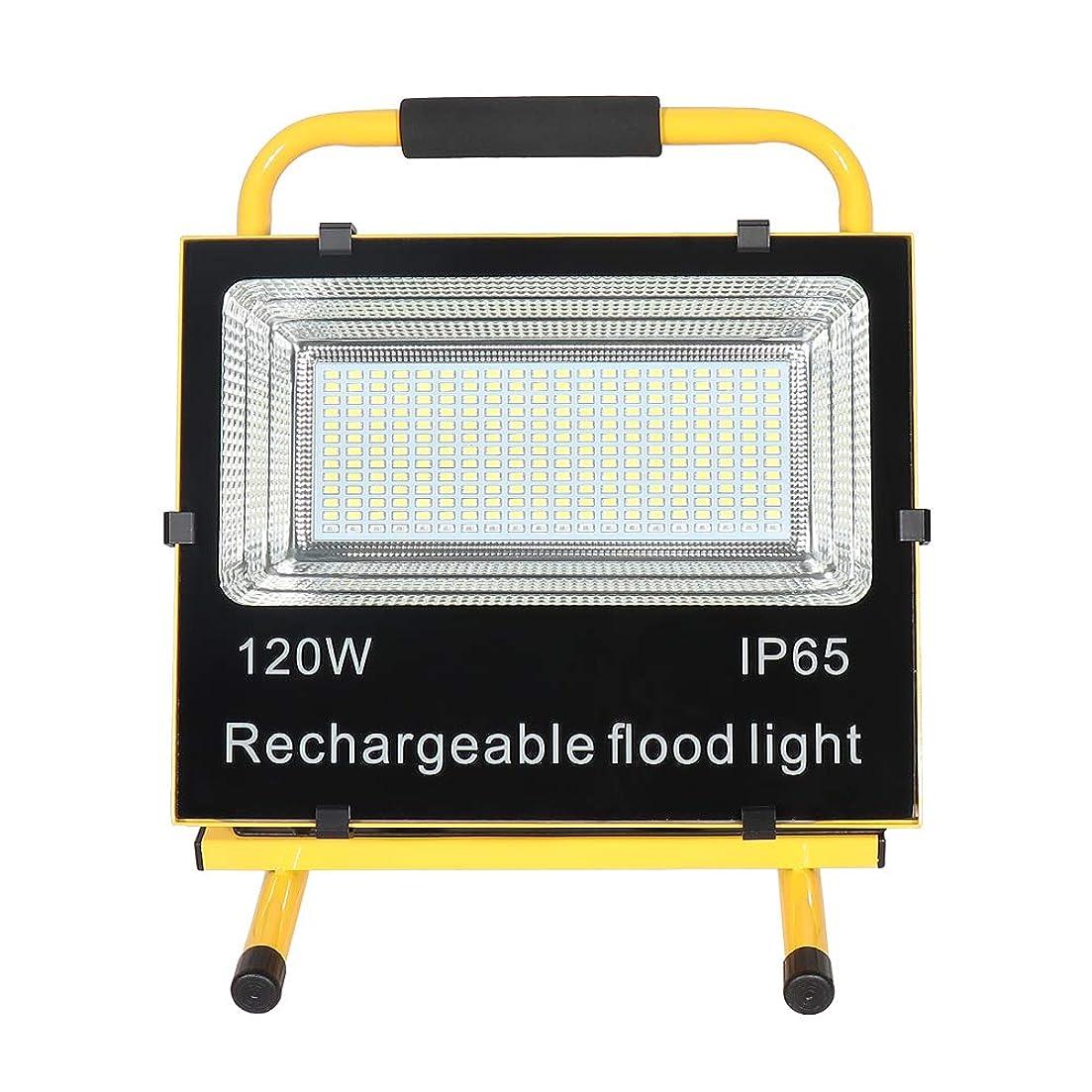 奇跡的なメリー眠いですSAILUN 充電式 LED投光器 超薄型 SOSモード付 120w 超高輝度 広角 フラッドライト 看板灯 ワークライト 野外灯 駐車場灯 緊急 非常灯