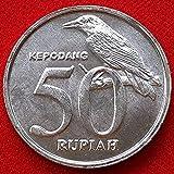 SHFGHJNM Colección de Monedas Colección de Monedas de la Moneda Indonesia 23mm