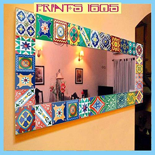 Pegatinas Decorativas para Azulejos 15x15cm para cocina, baño, escalera, etc. - Diseños...
