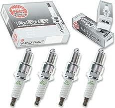 4 pcs NGK V-Power Spark Plugs for 1985-1995 Suzuki Samurai 1.3L L4 - Engine Kit Set Tune Up