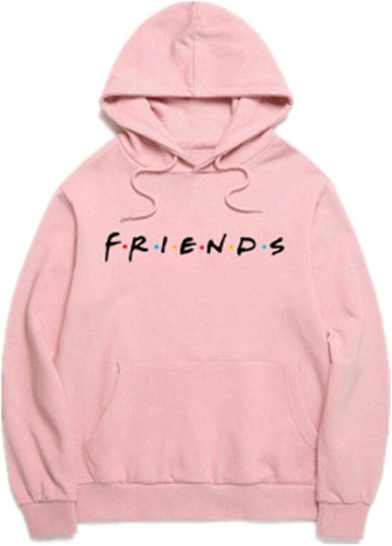 MAZF Women Branded goods Elegant Friends Sweatshirt Harajuku Print Hoodies Loo Letters
