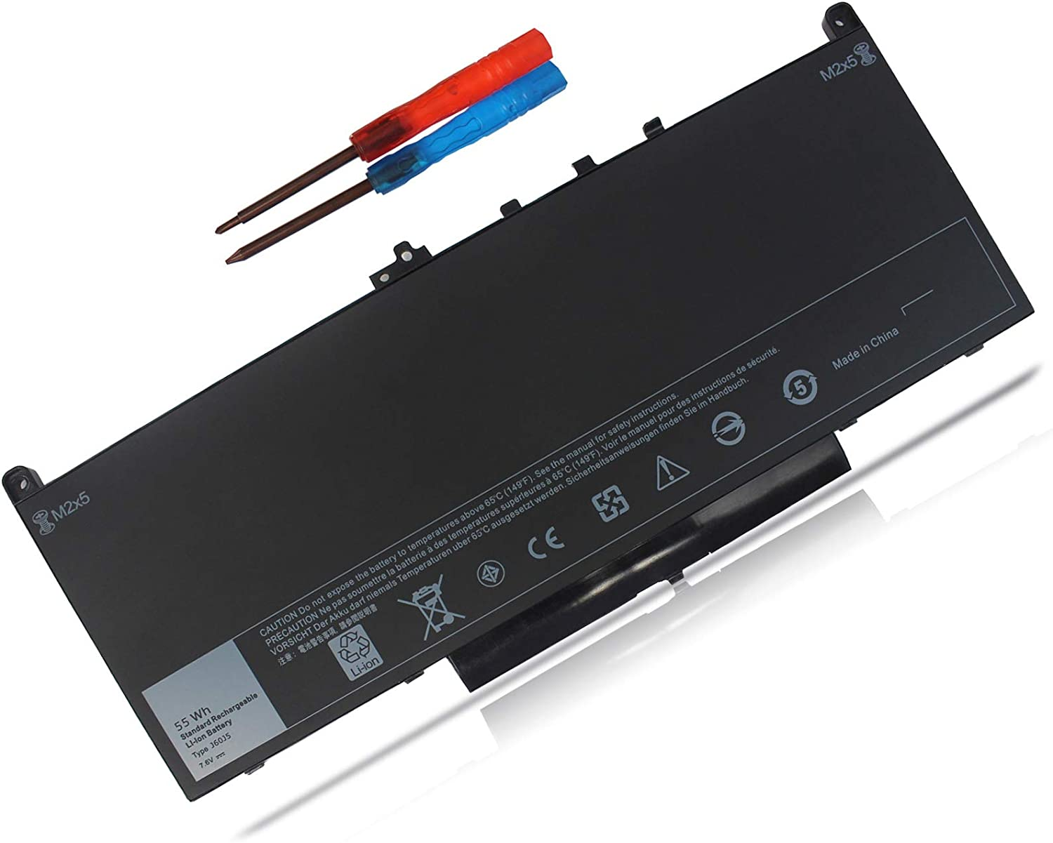 Shareway 55Wh Replacement Laptop Battery Deluxe OFFer for Dell Compatible Lat