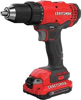 CRAFTSMAN V20 Cordless Drill/Driver Kit (CMCD701C2)