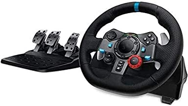 DYYD Pc Steering Wheel Game Game Steering Wheel,Racing Wheel,Driving Force Racing Wheel and Pedals (for PS4/PS3 and PC)