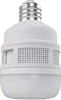CLEANRTH FLYLIGHT   75-watt Daylight LED Light Bulb That Vacuums & Traps Flying Bugs to Create Insect Fly Control