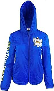Big Boy Headgear Sigma Gamma Rho Sorority Womens Light Jacket With Pocket Blue