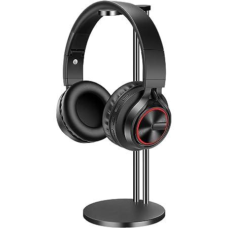 EletecPro Kopfhörer Ständer, Aluminium Legierung Universaler Headset Stand abnehmbar Kopfhörer Halter abziehbar Kopfhörerhalterung geeignet für alle Gaming Headset